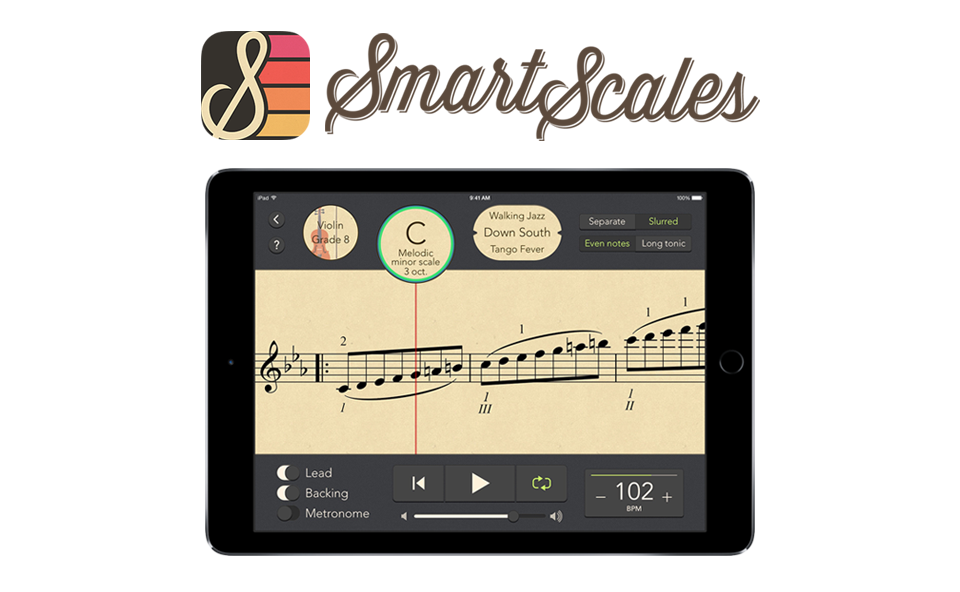 SmartScales - Backing Tracks for ABRSM Scales and Arpeggios