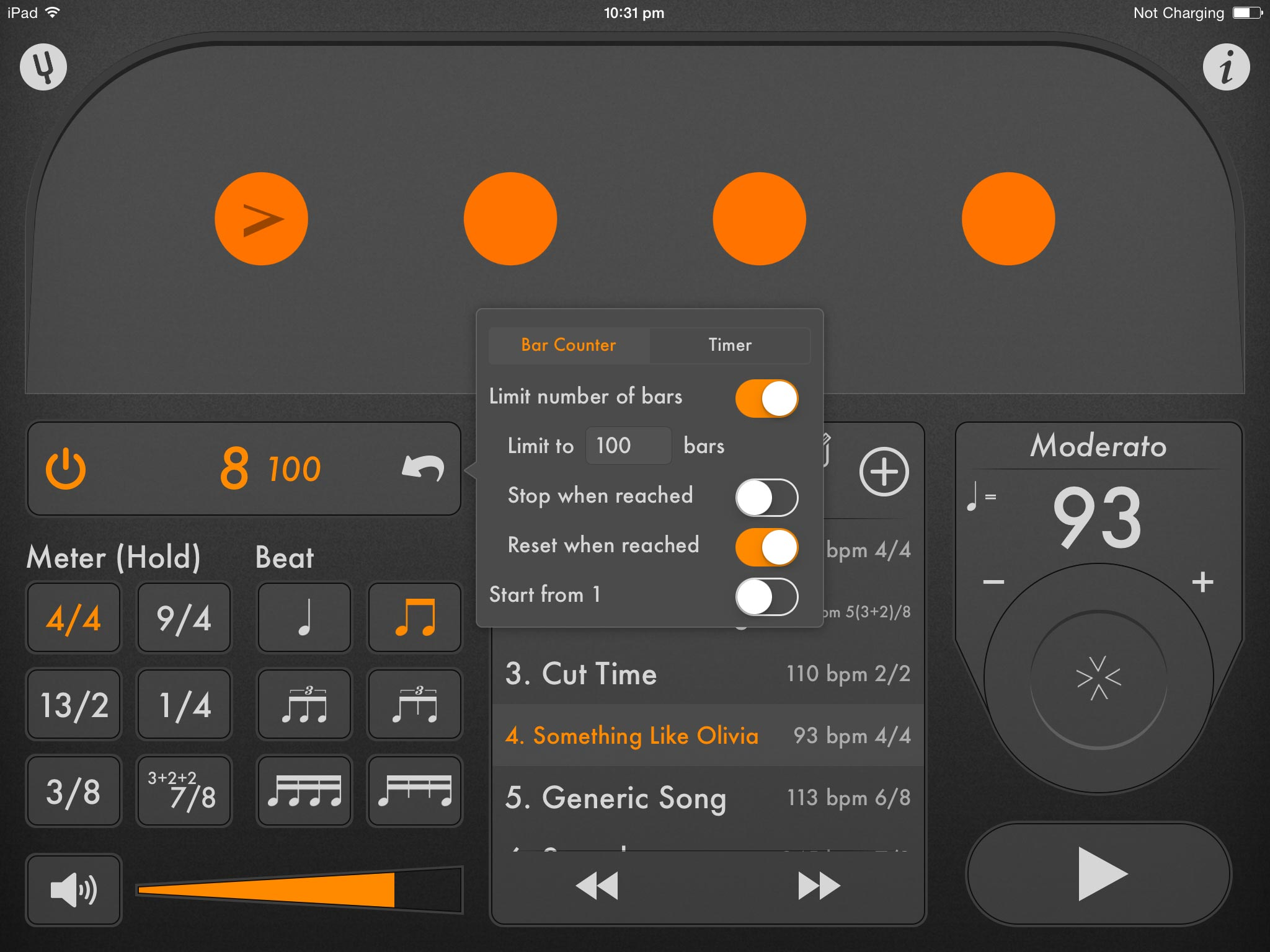 The Best Metronome App For Iphone Ipad And Ipod Touch