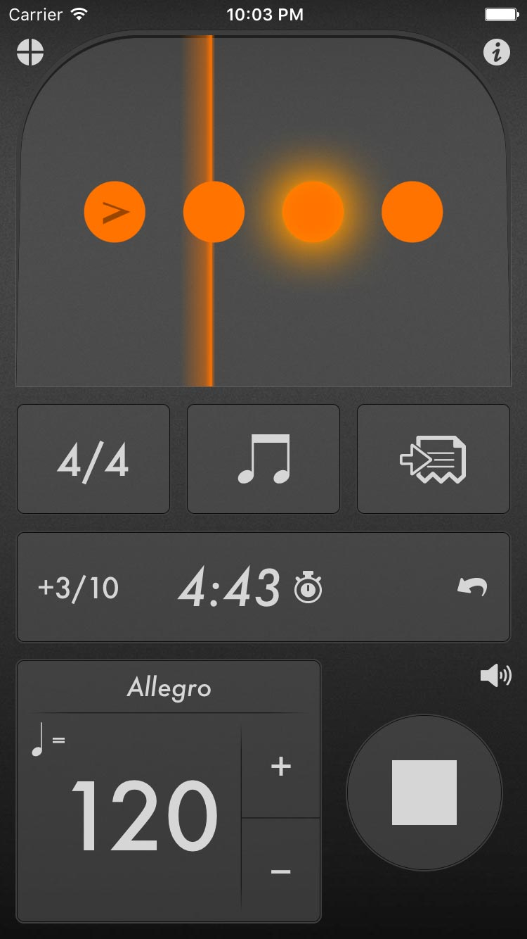 The Best Metronome App (for iPhone, iPad and iPod touch)